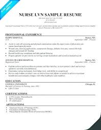 Lpn Resume Cover Letter Cover Letter For Resume Sample Objective Inspiration Lpn Sample Resume