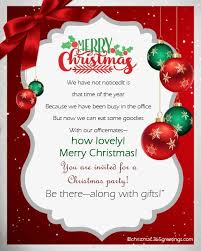 Christmas Inviations Christmas Invitation Template And Wording Ideas Christmas