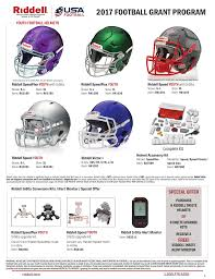 Riddell Helmet Fitting Chart Riddell Youth Football Helmet Sizing Chart