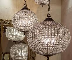 chandeliers european and american style rustic dining room beautiful crystal globe chandelier
