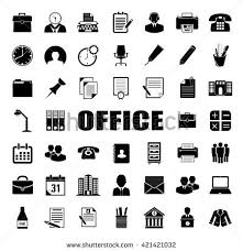 Free Vector Office Icon Set Download Free Vector Art Stock