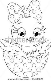 Small Picture Easter Chick Coloring Pages Part 2