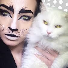realistic makeup of cat and like get some yourself some pawtastic adorable cat apparel