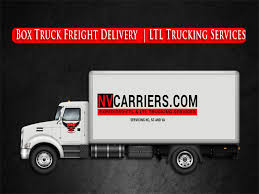 Box Truck Freight Delivery Services | LTL Trucking Company Raleigh NC
