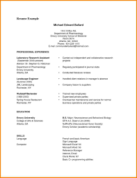 Simple Resume Format Sample Cv Format Sample Pdf MelTemplates 35