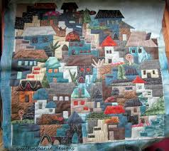 Jean's Quilting Page: Happy Village....let's visit! & As I quilted around the shapes, I could definitely see places that could  use more quilting, like roofs, trees, fill in areas. So I did some quilting  on some ... Adamdwight.com