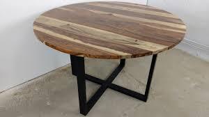 Esstisch Küchentisch Esszimmer Tisch Massiv Holz Design Rund ø 120 Cm Modern Art