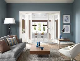Bemerkenswert Bilder Taubenblau Wandfarbe Ideen Wohndesign