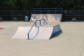 Camp extreme teen skate park