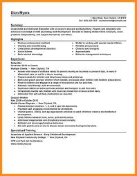 6 Sample Resume For Babysitter Azzurra Castle Grenada
