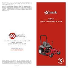 Exmark Lazer Z Light Kit 2012 Exmark Full Product Info Guide By Rick Cleghorn Issuu