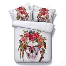 get sugar skull bedding aliexpress alibaba group for sugar skull bedspread