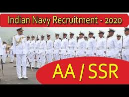 Aa Ssr Navy Notification Eligibility Age Exam Date