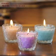 get quotations pearl li imported oil aromatherapy candles smokeless candles glass candle cup candle holders wedding favor romantic