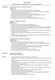 Qc Resume Samples Quality Control Engineer Resume Magdalene Project Org