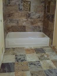 newtown pennsylvania bathroom porcelain tile install