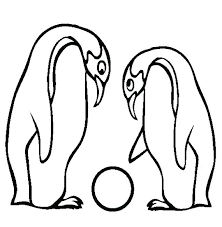Baby Penguin Coloring Pages Cute Penguin Coloring Pages S Able Cute