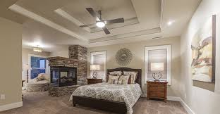 Exceptional This Bedroom Is Separated Into Two Distinct Areas By The Stone Fireplace.  The Screened