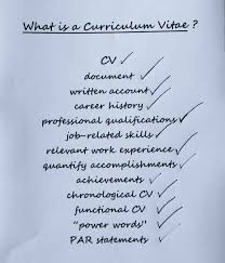 What Is A Curriculum Vitae Inspiration What Is A Curriculum Vitae