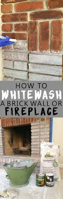 How To Whitewash Brick Best 20 Whitewash Brick Fireplaces Ideas On Pinterest White
