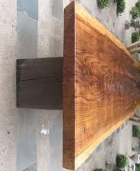 Redwood Slab Dining Table Similiar Redwood Table Keywords