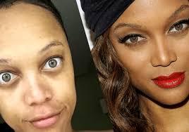 tyra banks without makeup
