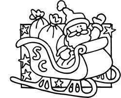 Small Picture Coloring Pages Of Santa Claus Christmas Coloring pages of