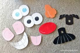 mr potato head costume pieces