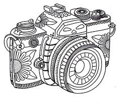tribal coloring pages. Plain Tribal Photography  Tribal Camera In Photography Coloring Page Throughout Pages O