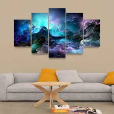 Wall Art Paintings For Living Room Popular Cloud Wall Art Buy Cheap Cloud Wall Art Lots From China