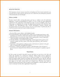 9 Self Employment Resume Sample Hr Cover Letter
