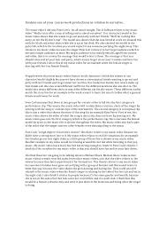 narrative essay analyse one of your coursework productions in relation to narrative the music video i did