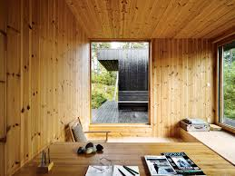 japanese office design. Home Office Design Inspiration Dwell Compact Cabin Interior Japanese