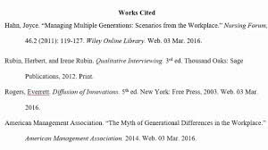 works cited list format co mla works cited list