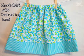 Simple Skirt Pattern Awesome Simple Skirt Tutorial With Options For 48 Different Looks Scattered