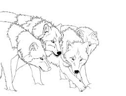 Free Printable Wolf Coloring Pages For Kids Embroidery Fox