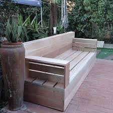 Stunning Outdoor Sofa Wood Make Your Own Wood Patio Furniture 5 Steps With  Pictures