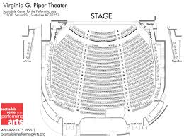 Scottsdale Performing Arts Seating Chart Scottsdale Performing Arts Seating Chart Of Virginia G
