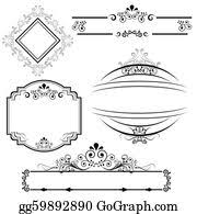 Scroll Border Designs Scroll Border Clip Art Royalty Free Gograph