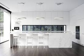 white modern kitchen. 2 White Modern Kitchen Interior Design Ideas