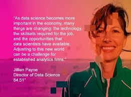 84.51° Director Jillian Payne on data science challenges