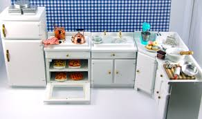 mini furniture sets. Dollhouse Furniture 1 12 Scale. Miniature Kitchen Scale Mini Sets