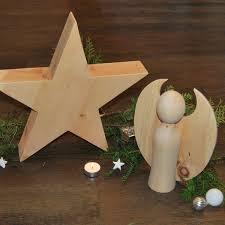 Handgefertigter Weihnachtsstern Und Engel Aus