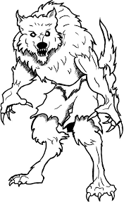Small Picture Werewolf 17 Characters Printable coloring pages