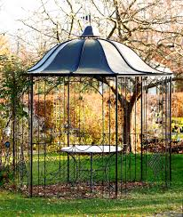Gartenpavillon Eisen Rost