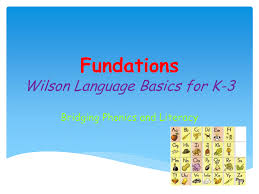 Wilson Vowel Chart Fundations Power Point 4 11