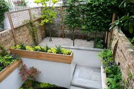 Small Picture Lawn Garden Cozy Small Garden Design Inspiration With L Shape