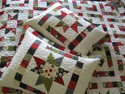 Quilted Pillow Sham Pattern finish a long first quarter wrap up ... & Quilted Pillow Sham Pattern finish a long first quarter wrap up quilt  google and patterns Adamdwight.com