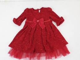 Youngland Toddler Girl Dress Size 3t Red Youngland Baby