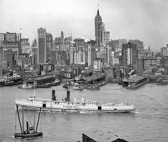 manhattan new york city circa 1908